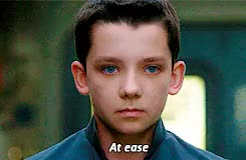 Watch and share Asa Butterfield GIFs and Aramis Knight GIFs on Gfycat