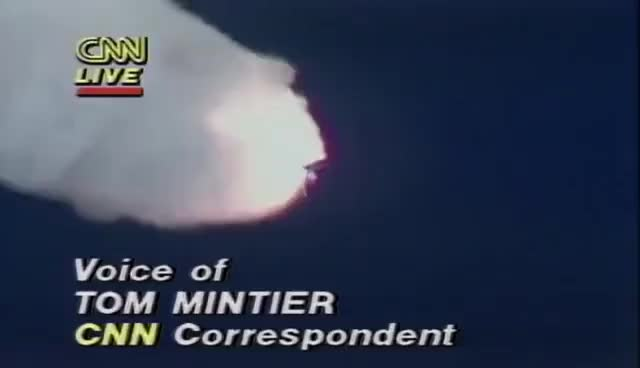 Watch and share 1986: Space Shuttle Challenger Disaster Live On CNN GIFs on Gfycat