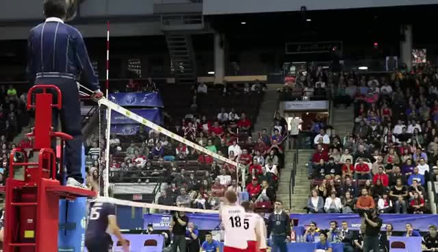 Watch and share Volleyball GIFs and Canada GIFs on Gfycat