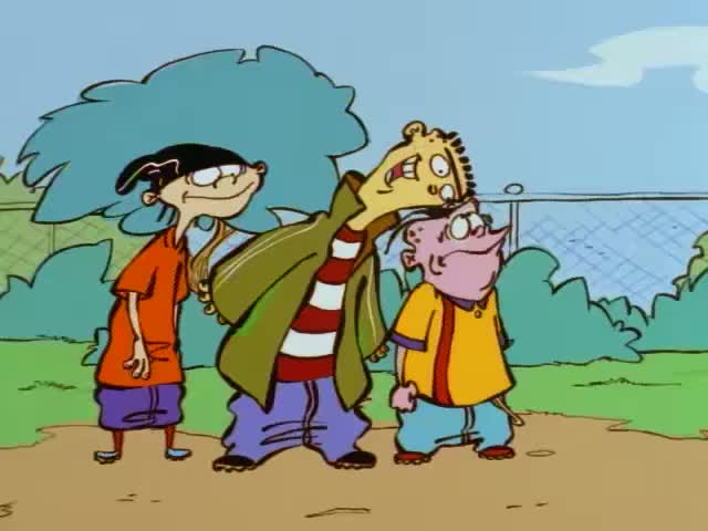 Ed Edd N Eddy S01e03 Sir A Lot Pinch To Grow An Gif
