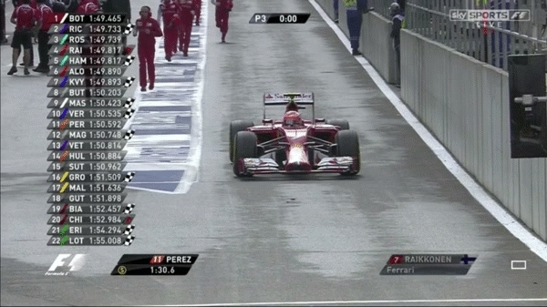 formula1, Marshall falls over in the pit lane. [GIF] (reddit) GIFs