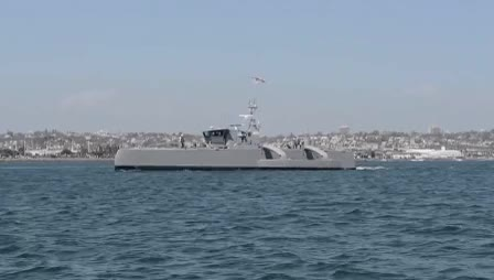 Watch and share DARPA Sea Hunter At San Diego GIFs by Popular Science on Gfycat