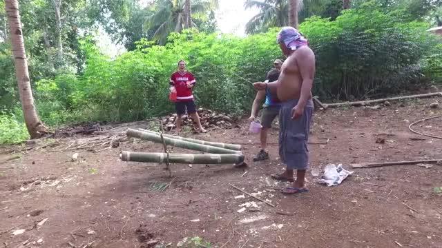 Watch The Filipino Bamboo Cannon (Lantaka) GIF by PM_ME_STEAM_K3YS (@pmmesteamk3ys) on Gfycat. Discover more bamboo cannon, bamboo gun, guns philippines GIFs on Gfycat