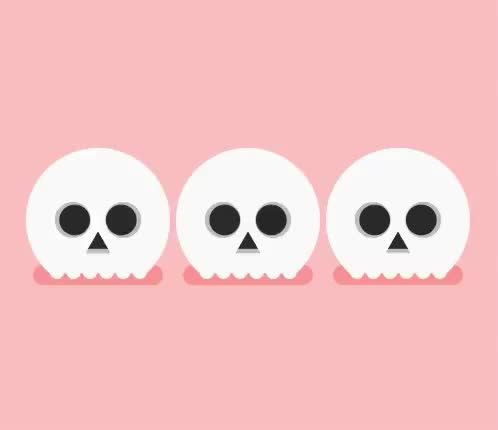 Watch this dead GIF by GIF Queen (@ioanna) on Gfycat. Discover more curran, cute, day, dead, dias, fear, funny, halloween, james, lol, mexican, mexico, muertos, pink, scary, skeleton, skull GIFs on Gfycat