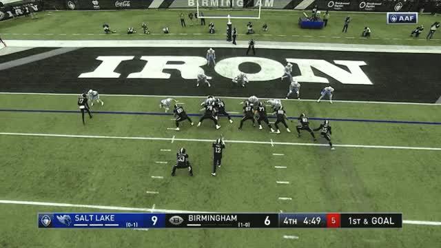 Watch Trent Richardson - Birmingham Iron, Go-Ahead touchdown GIF by Pete Brown (@pauljonesb) on Gfycat. Discover more aaf, birmingham, football, iron, touchdown, trent richardson GIFs on Gfycat