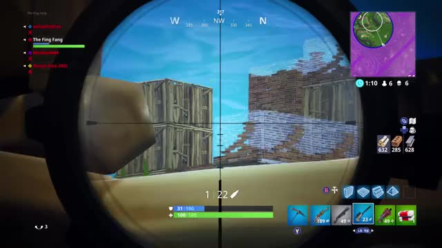 Watch Quick scope  GIF by Xbox DVR (@xboxdvr) on Gfycat. Discover more FortniteBattleRoyale, The Fing Fang, xbox, xbox dvr, xbox one GIFs on Gfycat