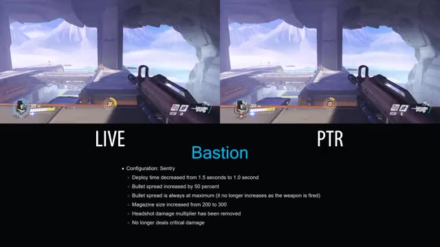 2 7 17 Overwatch PTR Patch VS Live Servers GIF | Find, Make & Share