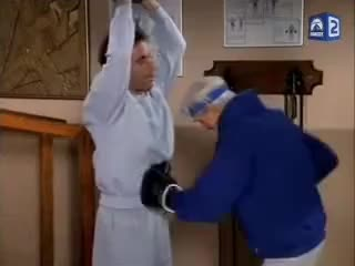 Watch this trending GIF on Gfycat. Discover more medicine ball, seinfeld GIFs on Gfycat