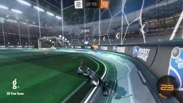 Watch Goal 8: Heater GIF by Gif Your Game (@gifyourgame) on Gfycat. Discover more B9, Gif Your Game, GifYourGame, Goal, Rocket League, RocketLeague GIFs on Gfycat