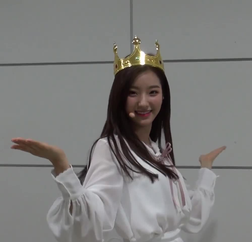 fromis, romsae, saerom, romsae crown  GIFs