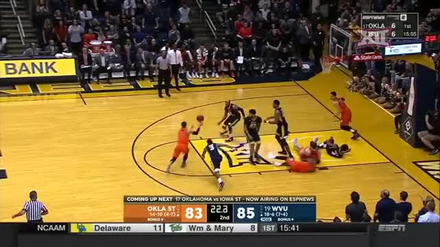Watch Lindy Waters Three GIF by Pistols Firing (@pistolsfiring) on Gfycat. Discover more Big 12 Conference, Sports, sp:dt=2018-02-10T12:00:00-05:00, sp:li=cbk, sp:st=basketball, sp:ti:away=OkSt, sp:ti:home=WVU, sp:ty=high, sp:vl=en-US GIFs on Gfycat