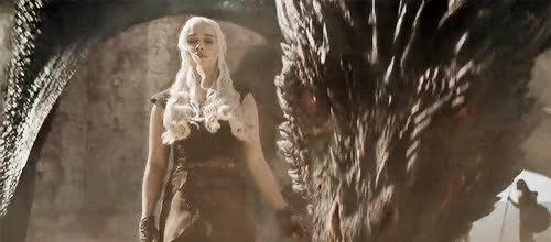 Watch Drogon Dany GIF on Gfycat. Discover more related GIFs on Gfycat
