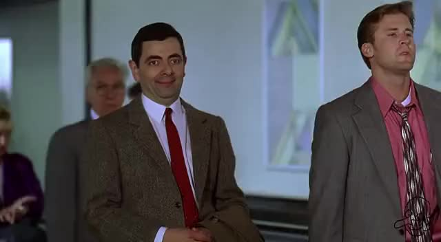 Watch and share Rowan Atkinson GIFs on Gfycat