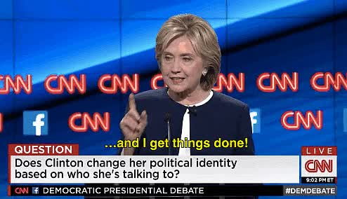 Watch and share Hillary Clinton GIFs by Danno on Gfycat