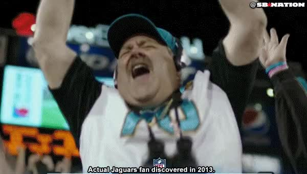 Watch and share Jaguars Fan GIFs on Gfycat