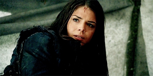 1x10, Marie Avgeropoulos, by ariana, octavia blake, octaviablakeedit, s1, the100daily, the100edit,  GIFs