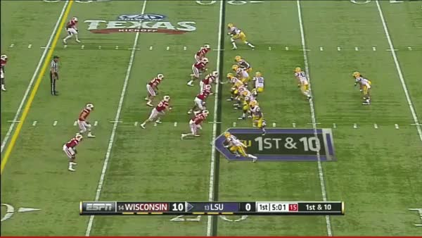 Watch and share First LSU TD GIFs by bearsaremean on Gfycat