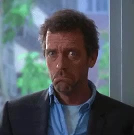 agree, dr, funny, house, hugh laurie, nod, nodding, sure, yes, Dr. House nodding GIFs
