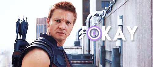 Watch and share Jeremy Renner GIFs and Okay GIFs on Gfycat