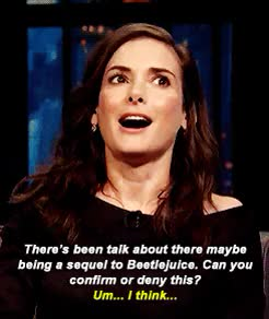 Watch and share Beetlejuice 2 GIFs and Winona Ryder GIFs on Gfycat