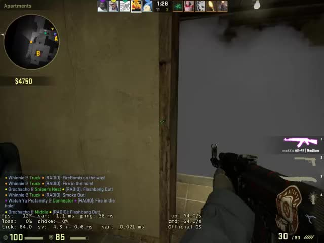 Watch and share Popflash Into Enemy Team GIFs on Gfycat