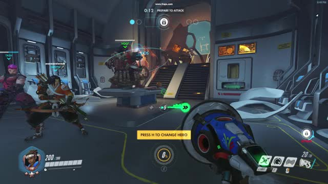 Watch and share Overwatch Flickering GIFs on Gfycat
