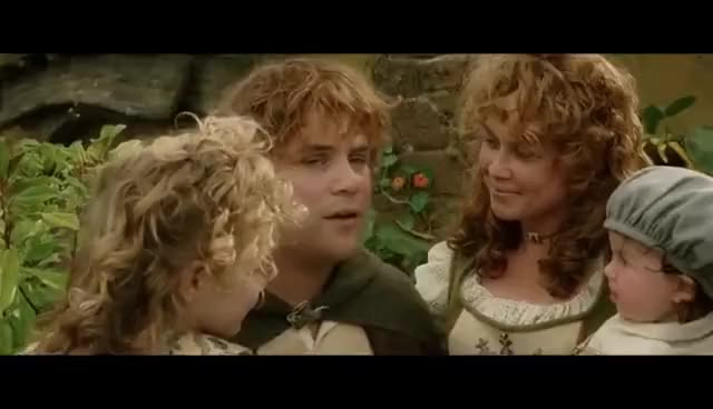 Watch LOTR The Return of the King - The End GIF on Gfycat. Discover more Sean Astin GIFs on Gfycat