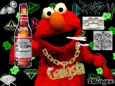 Watch GANGSTA ELMO GIF on Gfycat. Discover more related GIFs on Gfycat