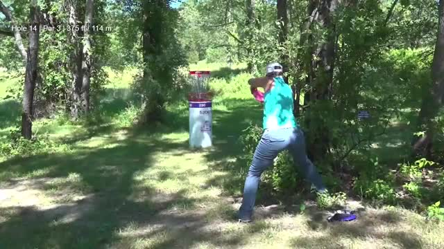 Watch Round Two 2018 Discraft's Great Lakes Open - Sarah Hokom hole 14 GIF by Benn Wineka UWDG (@bennwineka) on Gfycat. Discover more dgpt, disc golf, disc golf pro tour GIFs on Gfycat