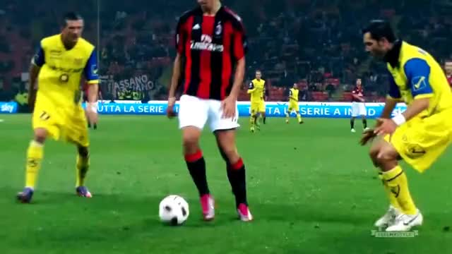 Watch and share Zlatan Ibrahimovic - AC Milan Legend! GIFs on Gfycat