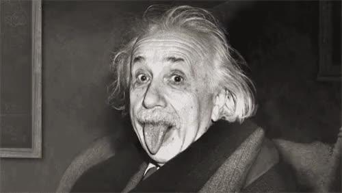 Watch and share Albert Einstein GIFs on Gfycat