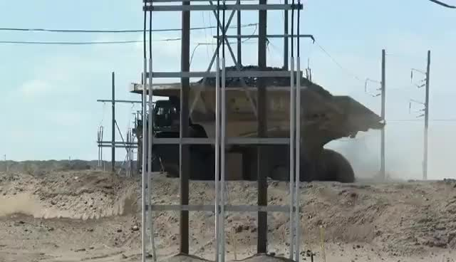Watch and share Caterpillar 797  -  Watching The Haul Truck Work GIFs on Gfycat