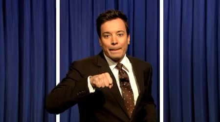 Watch and share Jimmy Fallon GIFs and Fist Bump GIFs by Reactions on Gfycat