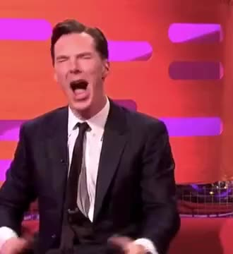Watch and share Benedict Cumberbatch Funniest Moments GIFs by Reactions on Gfycat