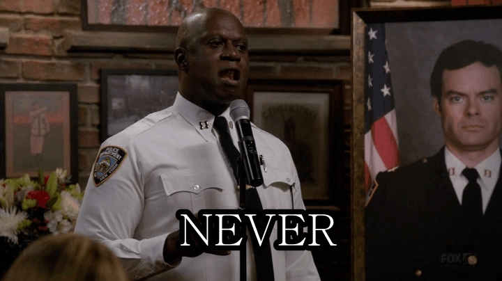 brooklynninenine, Never. Love. Anything. GIFs