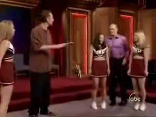cheerleaders, whose line is is anyway, cheerleaders GIFs