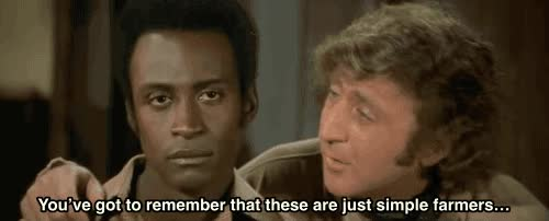 Watch Blazing saddles GIF on Gfycat. Discover more related GIFs on Gfycat