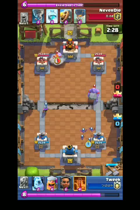 Watch and share Clash Royale 2019-02-06-11-34-30 1 GIFs on Gfycat