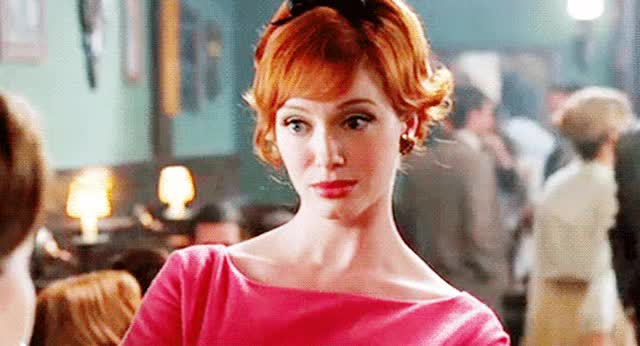 Watch no judgement GIF on Gfycat. Discover more christina hendricks GIFs on Gfycat