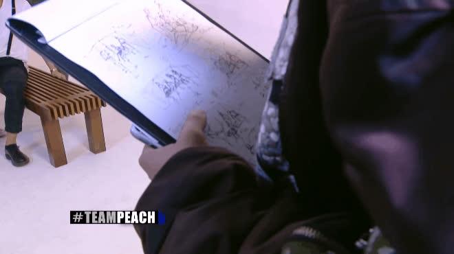 The Face Men: Lí do Peach luôn kè kè cầm bút và một cuốn số vẽ trên tay chắc hẳn sẽ khiến nhiều người bất ngờ!
