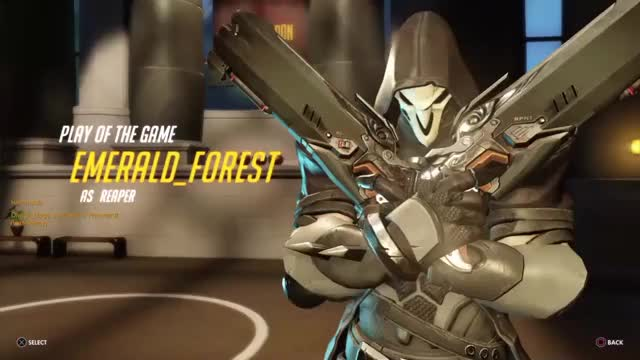 Watch and share Overwatch GIFs and Reaper GIFs by emerald_forest on Gfycat