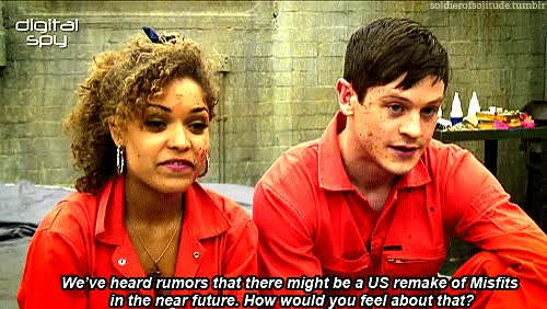 Watch this trending GIF on Gfycat. Discover more antonia thomas, iwan rheon GIFs on Gfycat