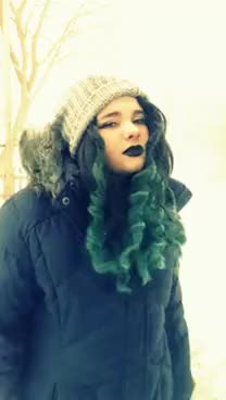 Watch and share Snow Goth GIFs on Gfycat