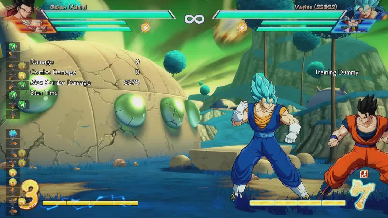 Dragon Ball FighterZ, dbfz, neat side switch GIFs