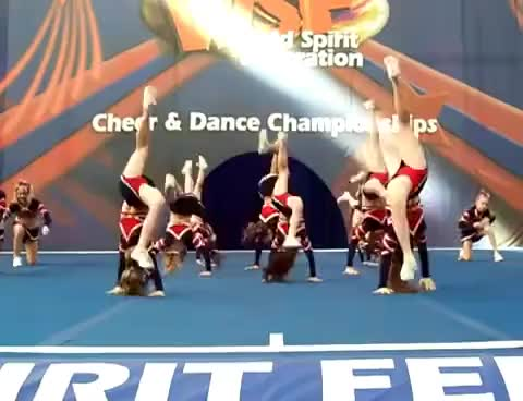 Watch level 1 GIF on Gfycat. Discover more cheerleading GIFs on Gfycat