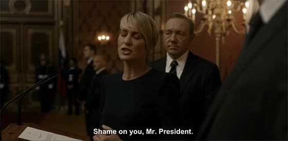 Watch this house of cards GIF on Gfycat. Discover more kevin spacey, robin wright GIFs on Gfycat