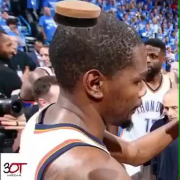 Watch Kevin Durant Nappy Hair GIF on Gfycat. Discover more related GIFs on Gfycat