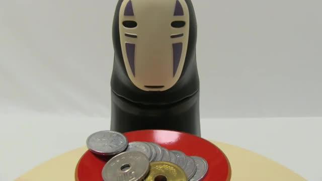 Watch Spirited Away Kaonashi(No-Face) Piggy Bank GIF by Da Ouaich (@daouaich) on Gfycat. Discover more asmr, japan, japanesestuff GIFs on Gfycat