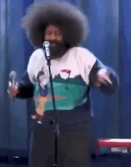 Watch and share Stand Up Gifs GIFs and Reggie Watts GIFs on Gfycat