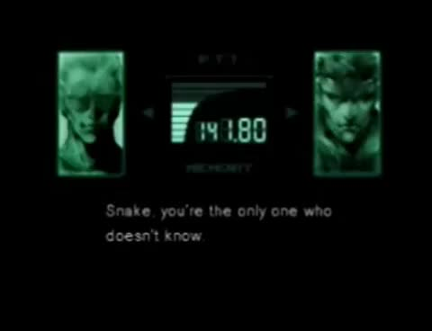 Watch and share Metal Gear Solid GIFs on Gfycat